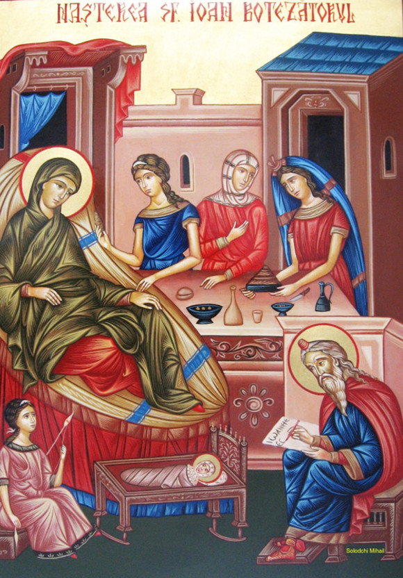 Αποτέλεσμα εικόνας για nasterea botezatorului